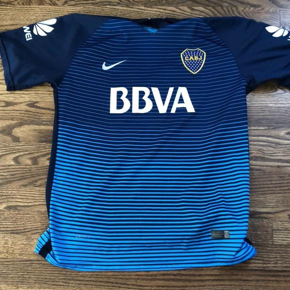 new arrival e6af8 ed8af Boca Juniors 2017 3rd Kit